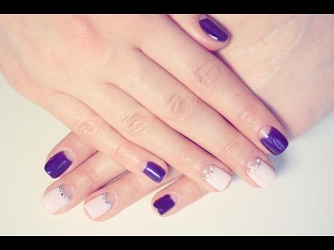 Swarovski Gelish Nail Design Youtube
