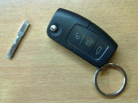 Как разобрать ключ форд