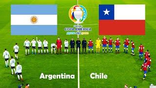 ARGENTINA vs CHILE   COPA AMERICA 2021   PES 2021 Gameplay   Match PC