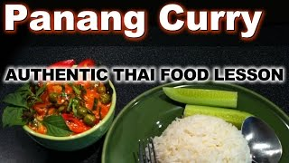 Authentic Thai Recipe For Panang Moo | พะแนง | Panang Curry With Pork
