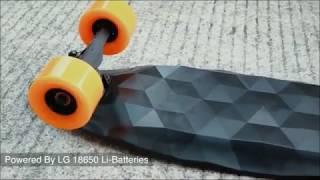 Monopatín/skate eléctrico en Aliexpress