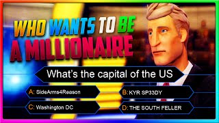 Who Wants to be a Millionaire? SideArms and Speedy Can Sure Try!