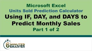 Units Sold Prediction Calculator - Part 1 of 2