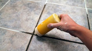 How to make Epoxy Material and filling joints of Tile Floor