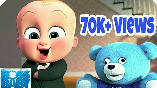 AMW:- The Boss Baby:Story Of Two Brothers || Hindi Dubbed Funny Cartoon || || ASMAN's World ||