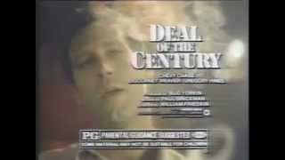 Deal Of The Century 1983 TV Spot