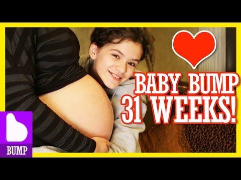 BABY BUMP UPDATE! 31 WEEKS! |  KITTIESMAMA