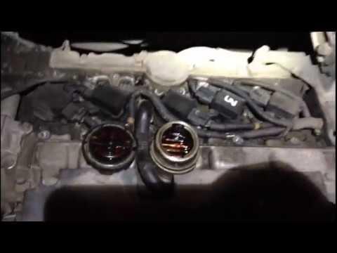 Volvo S60 со стуком вкладышей - спустя час мотор ожил.