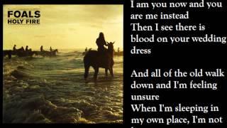 Foals - Moon (lyrics on screen)