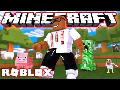 MINECRAFT IN ROBLOX (Roblox Finders Keepers)