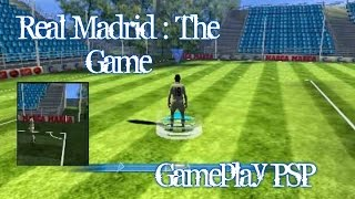 Real Madrid : The Game - Gameplay - Español - PSP