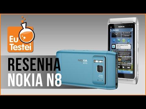 Nokia N8 Smartphone - Vídeo Resenha EuTestei Brasil