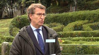 Feijóo anuncia que el plan sectorial se aprobará el próximo jueves en el consejo de la Xunta