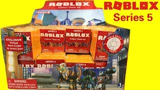 Roblox Series 5 Blind Box Unboxing/Review & Code Items