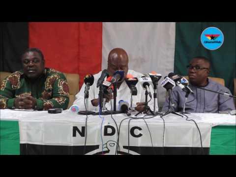 NDC blames 'Akufo Addo's vigilante groups' for Lapaz police killing