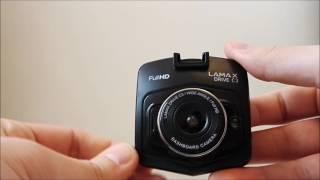 presentation of car camera lamax drive c3 prezentacja kamery samochodowej