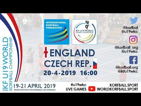 IKF U19 WKC 2019 ENG - CZE