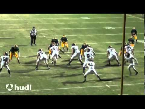 QB Justus Spillner, Nevada Union High School, (Junior Year/2014) Week 1 vs Placer HS