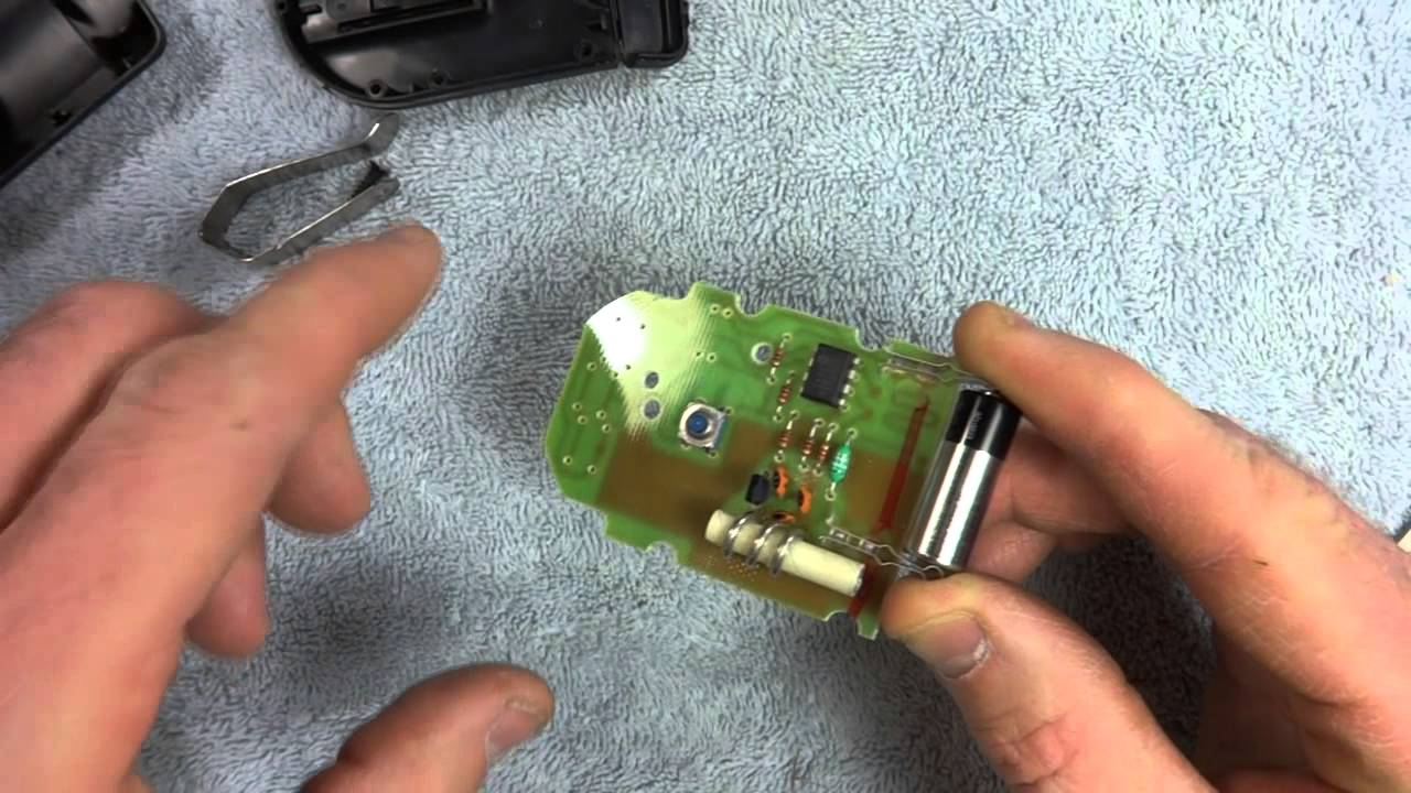 small resolution of repairing remote control for genie garage door opener