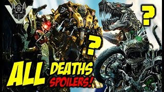 All Confirmed DEATHS In Transformers The Last Knight - FULL SPOILERS!