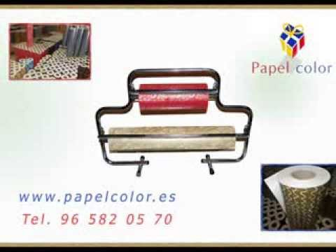 Papel de regalo ind graf papel color s l youtube - Papeles de regalo ...
