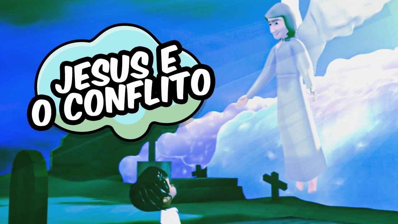 JESUS E O CONFLITO - APOCALIPSE KIDS (Lição 6)