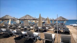 Antalya Lara Mimosa beach .Обзор пляжа # 9