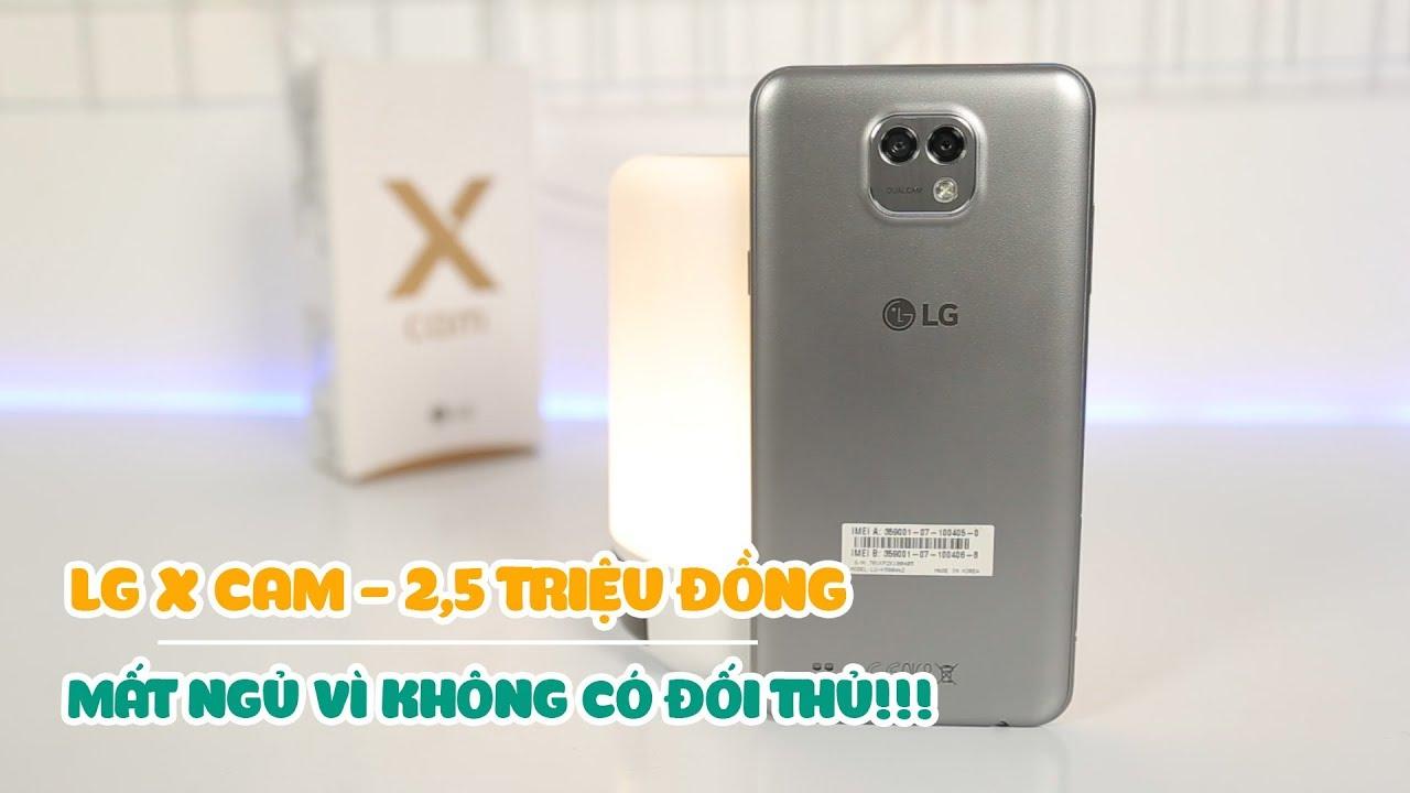 LG X Cam 2.5 triệu – vô đối trong tầm giá với camera kép