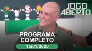 Jogo Aberto - 15/01/2020 - Programa completo