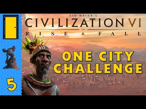 Civilization 6 Rise and Fall - One City Challenge - Part 5: A Golden Age Indeed