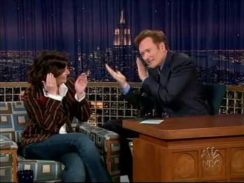 Conan O'Brien 'Megan Mullally 9/15/04