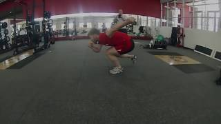Off Skates At The Olympic Training Center In Colorado Springs