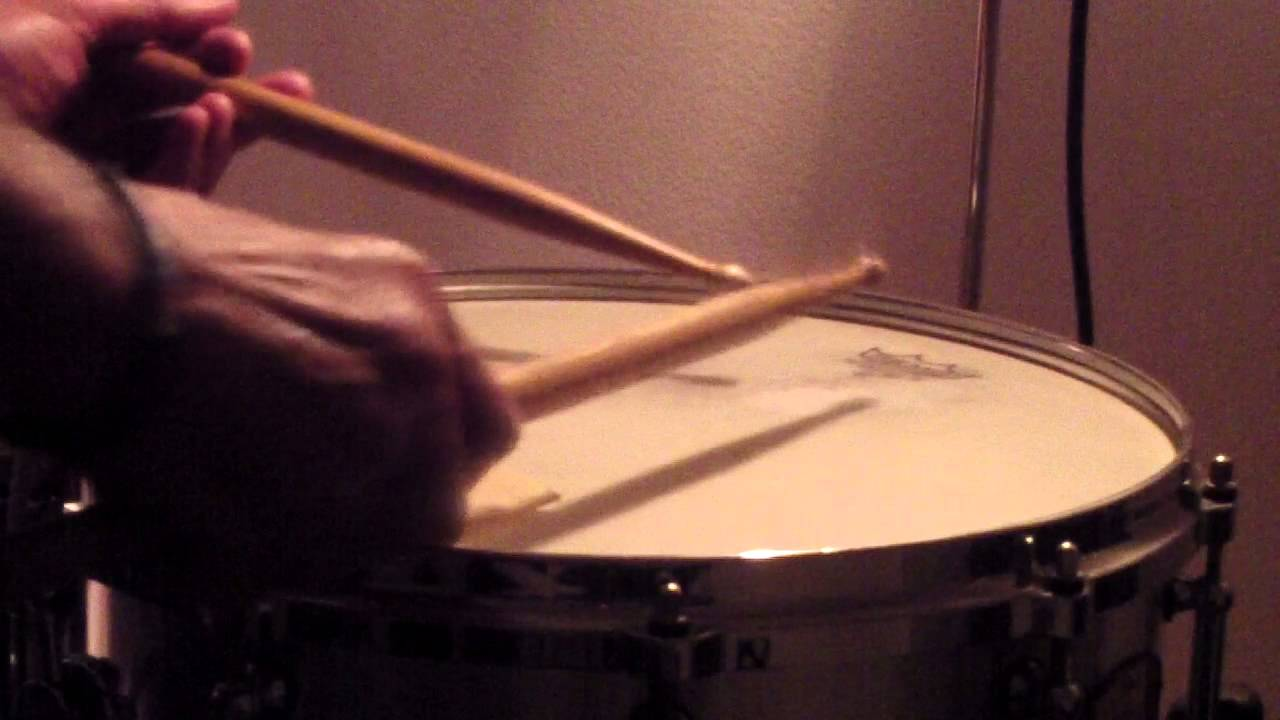 military drum beat notes