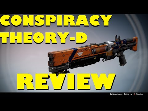 "Destiny: ""CONSPIRACY THEORY-D"" REVIEW * AMAZING TAKEN KING SHOTGUN! *"