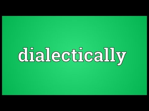 Header of dialectically