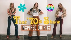 THAT '70s SHOW // '70s inspired outfits