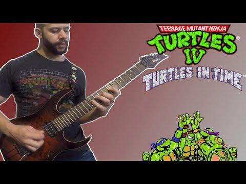 TMNT IV - Turtles In Time Metal Guitar Medley By SuperMattAttacks