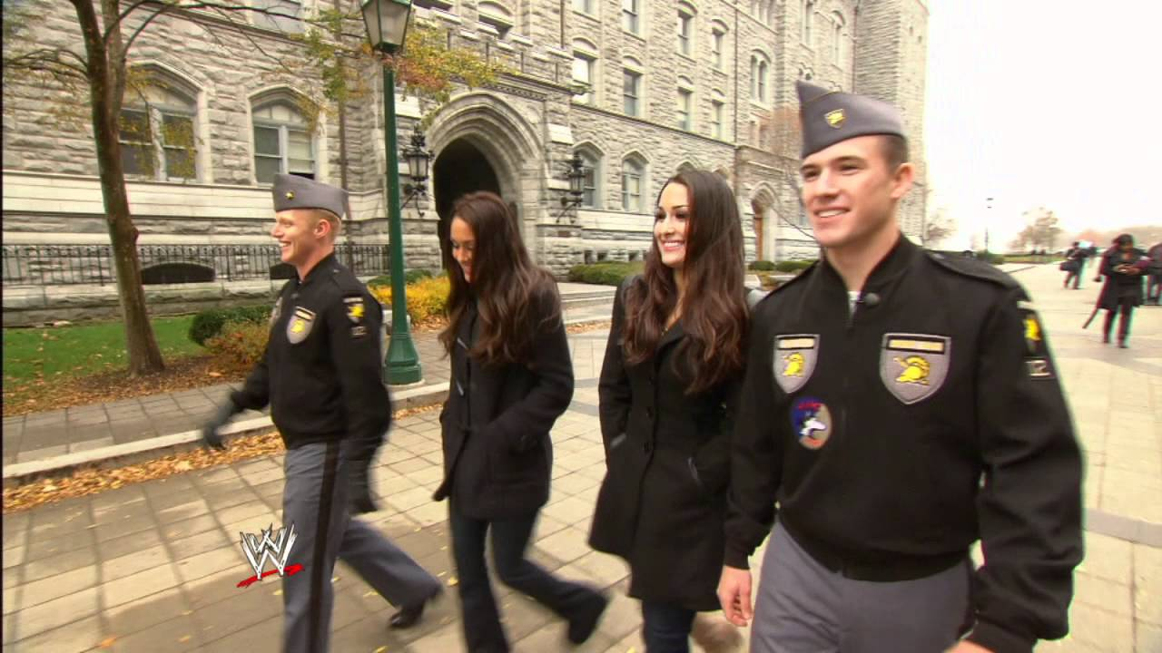 wwe presents the bellas tour west point youtube