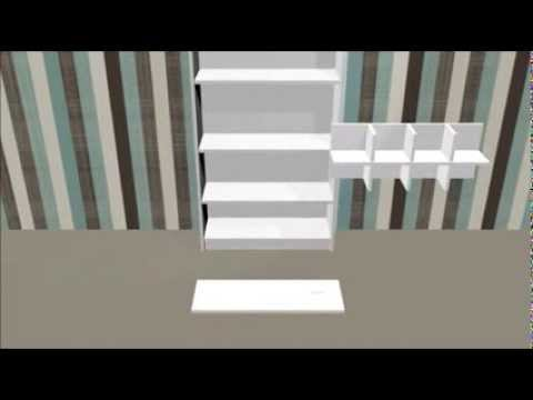 pimp dein billy regal regaleinsatz cd king 80 animation youtube. Black Bedroom Furniture Sets. Home Design Ideas