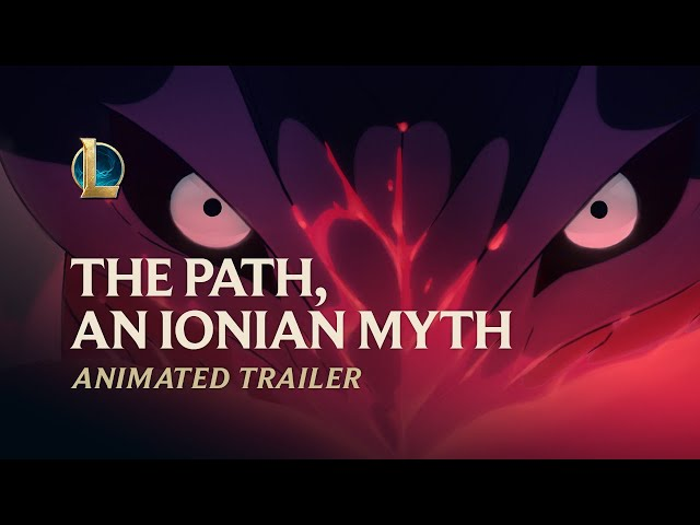 The Path, An Ionian Myth | Spirit Blossom 2020 Animated Trailer - League of Legends - League of Legends
