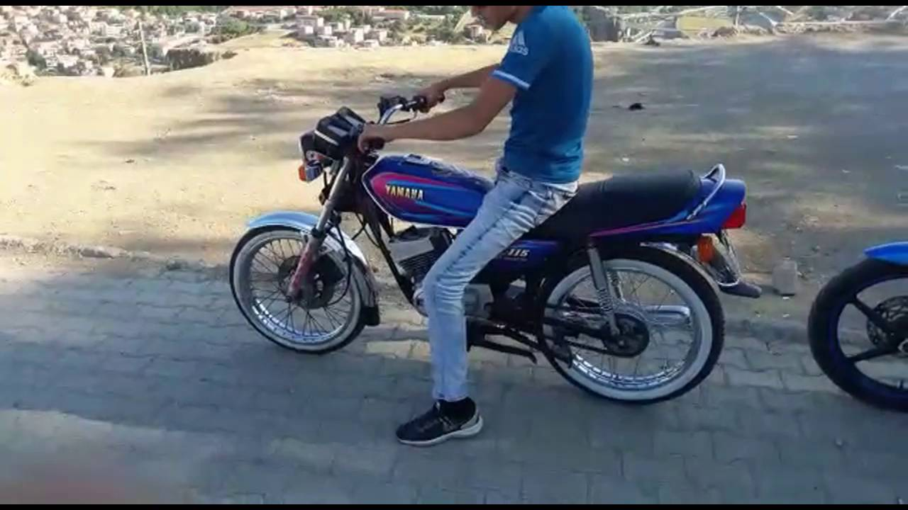 Yamaha rx115 youtube for Yamaha rx115 motorcycle for sale