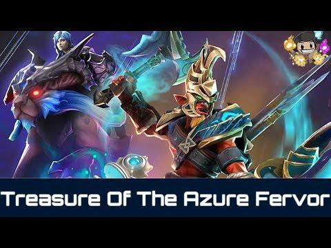 Opening New Treasure Of The Azure Fervor