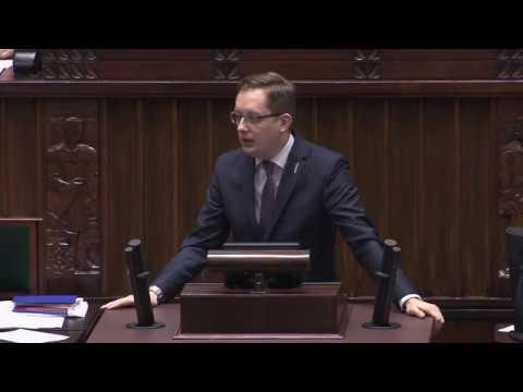 Poseł Winnicki pyta o roszczenia żydowskie (09.01.2018)