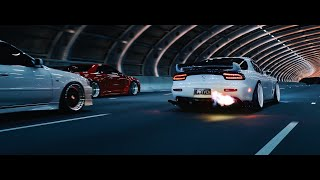 Midnight Run - Part II (R34 GTR's, FD RX7's, S15 and more)   4K