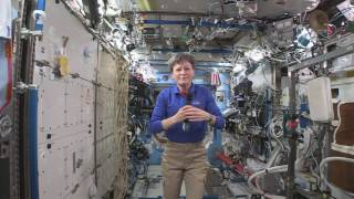 Space Station Crew Member Discusses Life in Space with Web-Based Media