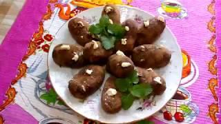 Картошка сладкая к чаю. Десерт из печенья. Вкусно и быстро.
