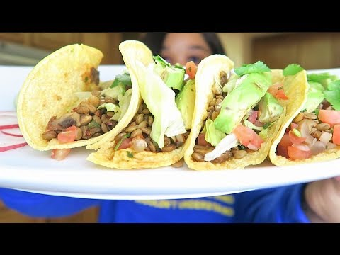 Day 32| Vegan Weight Loss Challenge (BEST VEGAN TACO RECIPE EVER) #Weightlossjourney