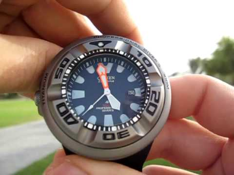 citizen aqualand dive watch manual