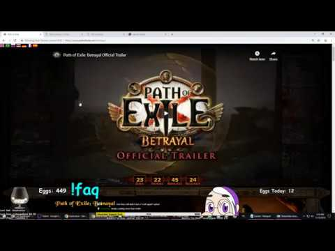 PATH OF EXILE 3.5 BETRAYAL LEAGUE FIRST REACTIONS   demi Live