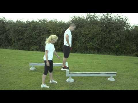 Outdoor Gym Equipment - FLZ Balance Beam